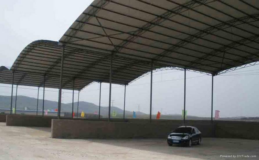 武汉推拉篷是什么材料构成的呢